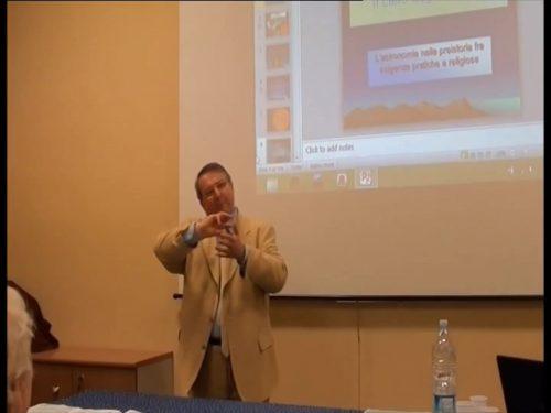IL CIELO DEGLI ANTICHI, ALLA SCOPERTA DELL'ARCHEOASTRONOMIA CON GUIDO COSSARD – VIDEO